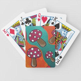 Mushroom Playing Cards