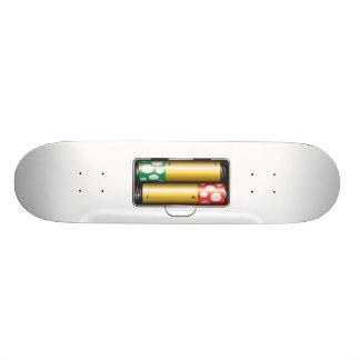 Mushroom Power Skateboard Deck