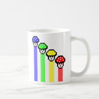 Mushroom Rainbow Coffee Mug