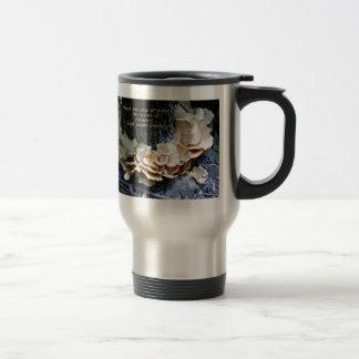 Mushroom ring travel mug