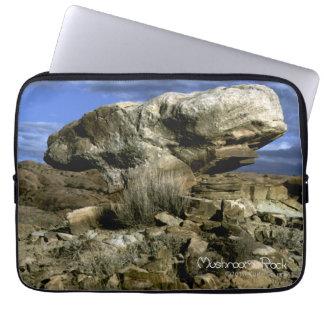 Mushroom Rock Laptop Sleeve