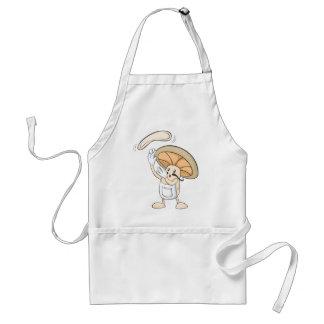 Mushroom Shirts - Mushroom Chef Baker Dough Adult Apron