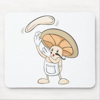 Mushroom Shirts - Mushroom Chef Baker Dough Mouse Pad
