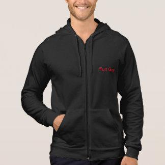 Mushroom sleeveless hoodie