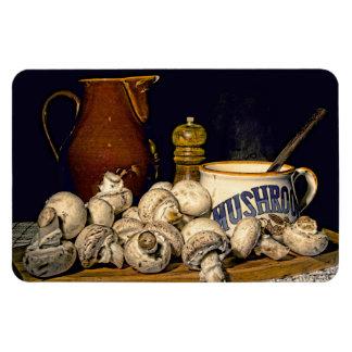 Mushroom Soup Kitchen Still Life Magnet