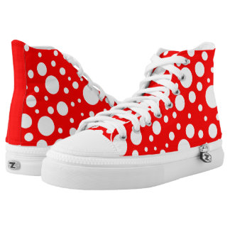 Mushroom Spots High-Top Shoes