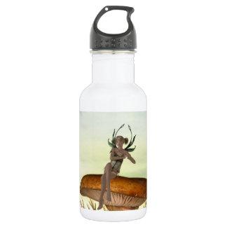 Mushroom Sprite 18oz Water Bottle