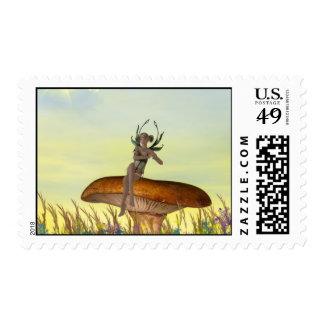 Mushroom Sprite Stamp