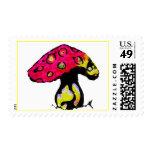 mushroom stamp