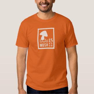 Mushroom Stamp Tee Shirt