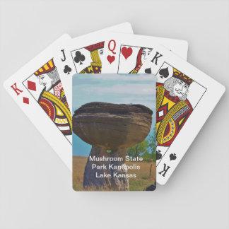 Mushroom State Park Kanopolis Lake PLAYING CARD'S Playing Cards