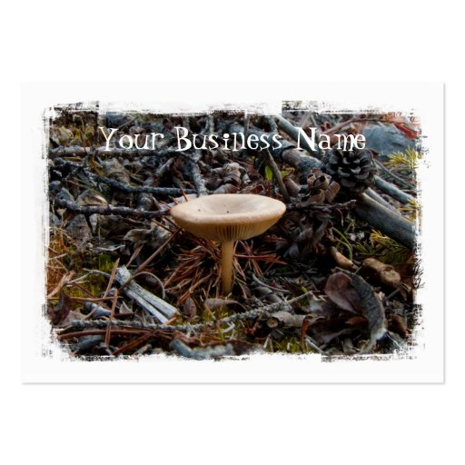 Mushroom Stretch Large Business Cards (Pack Of 100)