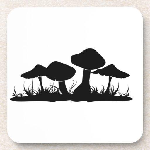Mushroom Toadstool Cork Coaster | Zazzle