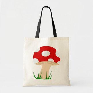 Mushroom Tote Budget Tote Bag