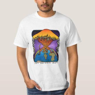 Mushroom Tree Earth T-Shirt
