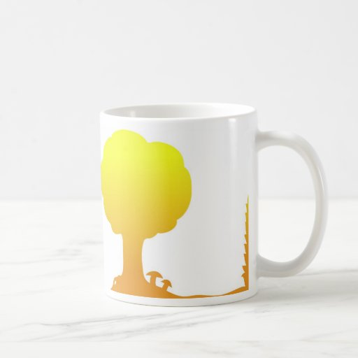 Mushroom Tree Mug