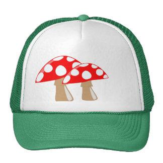 Mushroom Trucker Hat