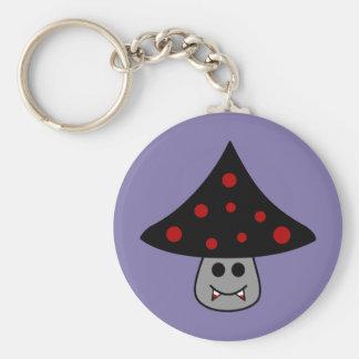 Mushroom Vampire Keychain