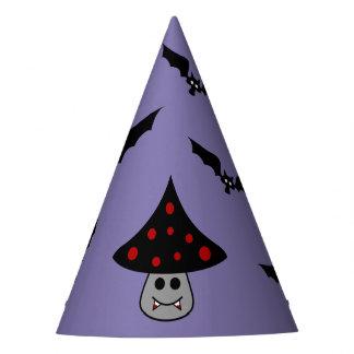 Mushroom Vampire Party Hat