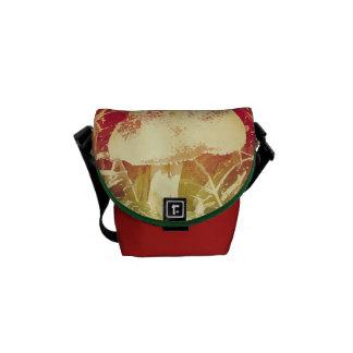 Mushroom Watercolor Messenger Bag