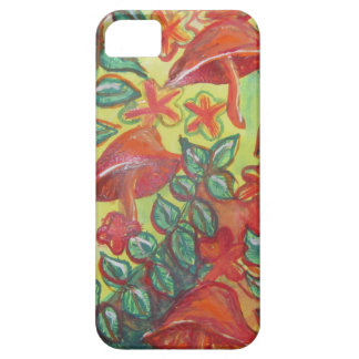 mushrooms and leaves Samsung S7 phone case
