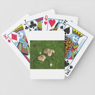 Mushrooms Bicycle Playing Cards