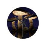 Mushrooms by J. Matthew Root Clock