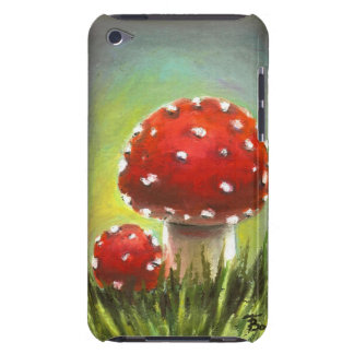 Mushrooms Barely There iPod Case