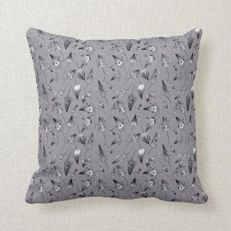 Mushrooms Cushion Throw Pillow
