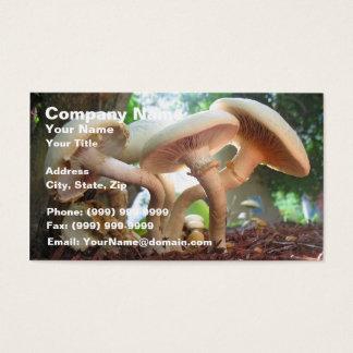 Mushrooms Dancing Business Card
