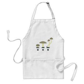 Mushrooms (food, poison, high) adult apron
