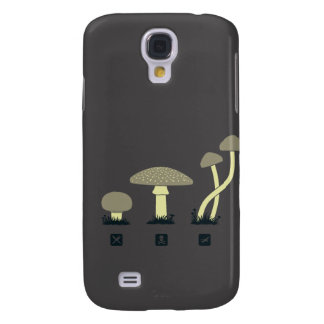 Mushrooms (food, poison, high) galaxy s4 case