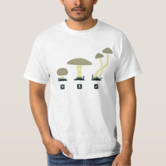 Mushrooms (food, poison, high) T-Shirt