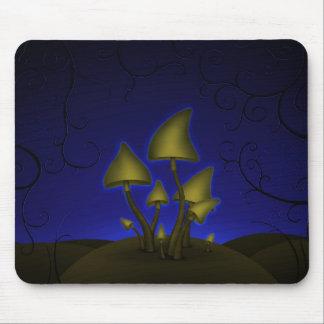 Mushrooms (Halloween Night) Mouse Pad