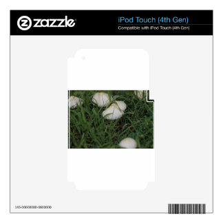 Mushrooms in grass skin for iPod touch 4G