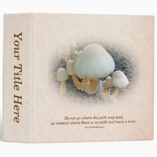 Mushrooms in Mulch - Leucoagaricus americanus Binder