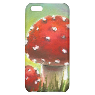 Mushrooms iPhone 5C Covers