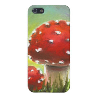 Mushrooms Cover For iPhone 5