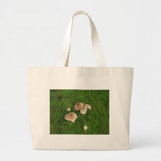 Mushrooms Large Tote Bag