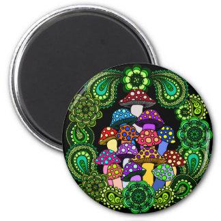 Mushrooms Magnet