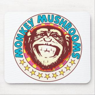 Mushrooms Monkey Mouse Pad