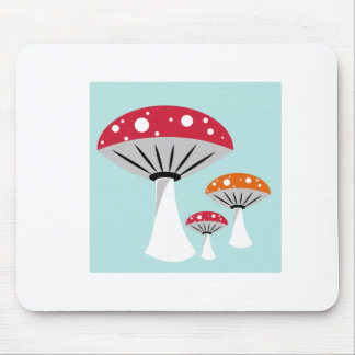 Mushrooms Mouse Pad