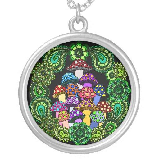 Mushrooms Necklace