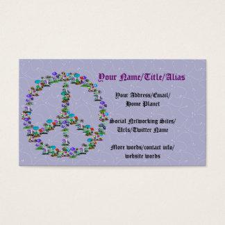 Mushrooms Of Peace Business Card