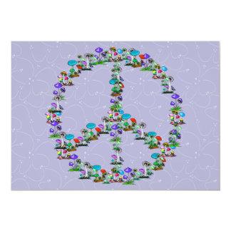 Mushrooms Of Peace Card