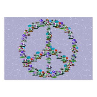 Mushrooms Of Peace Large Business Card