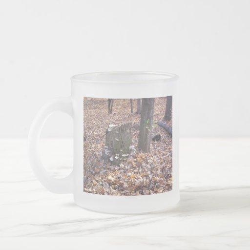 Mushrooms on Stump Mug