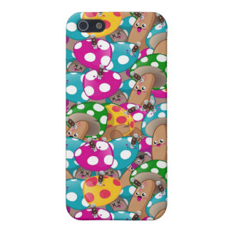 Mushrooms pattern 1 iPhone SE/5/5s cover