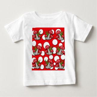 Mushrooms pattern baby T-Shirt