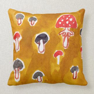 mushrooms pillow